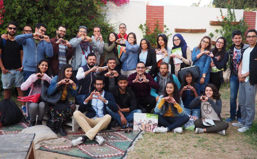 Die Solijugend zu Gast bei We love Sousse