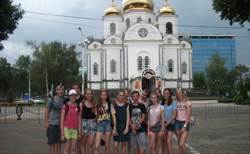 Viele Grüße aus Krasnodar und Orljonok