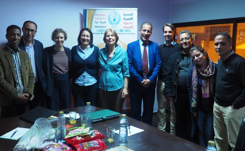Zukunftswerkstatt Jugendaustausch Marokko