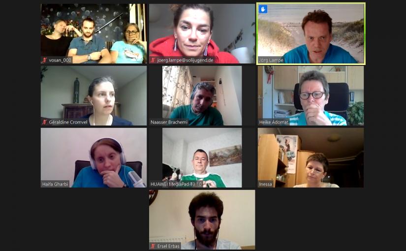 #soli4ever — 2. Videokonferenz mitunsererinternationalen Partnern