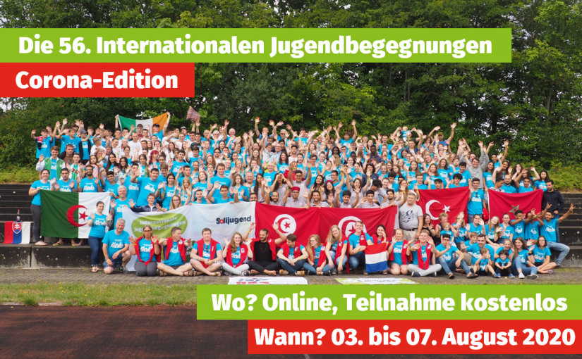 Online: Die 56. Internationalen Jugendbegegnungen Corona-Edition