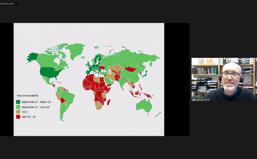 """Ernüchternd und ermutigend zugleich: Seminar zu """"Globaler Impfsolidarität"""""""